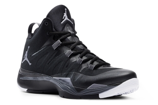 a39ff20def11c Fly 2. Black Cement Grey-Dark Grey-White 599945-003 08 01 13  140 More  Jordan  Super.Fly 2