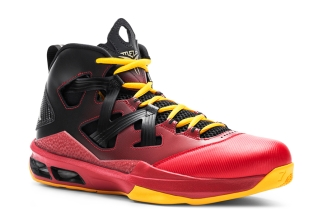 7734ab816106 Jordan Melo M9 Black Metallic Gold-Gym Red-University Red 551879-028  08 2013  140 More  Jordan Melo M9