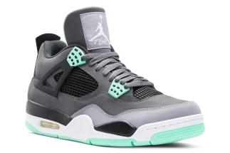 Air Jordan IV Dark Grey Green Glow-Cement Grey-Black 308497-033 08 17 13   160 More  Air Jordan IV  Green Glow Purchase  on eBay 4e6c14450