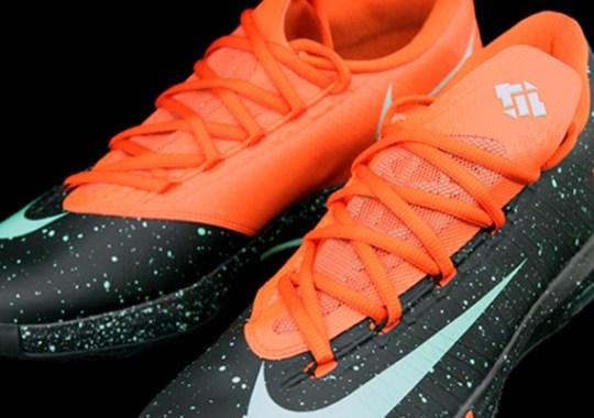 """""""Mint Speckle"""" Nike KD 6"""