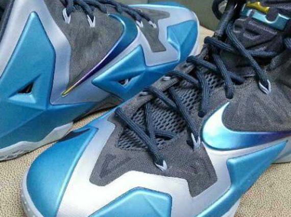 Nike LeBron 11 - Armory Slate - Gamma Blue - Light Armory ...