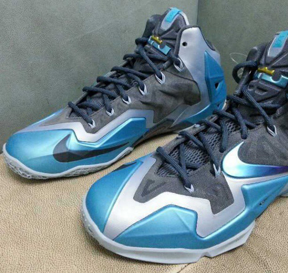 watch 6c648 6594b Nike LeBron 11. Armory Slate Gamma Blue-Light Armory Blue 616175-401 10 2013