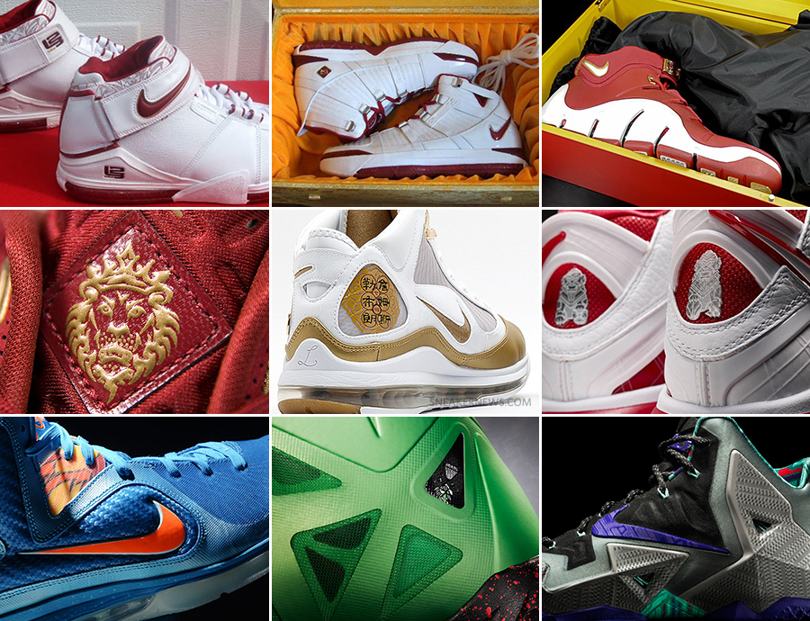 """the latest c4240 fb7da Chamber of Fear to Terracotta Warrior  The History of Nike LeBron """"China""""  Editions"""