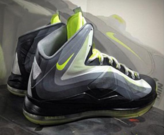 "Nike LeBron X ""Neon 95"" by Mache Customs - SneakerNews.comLebron 11 Customize Ideas"