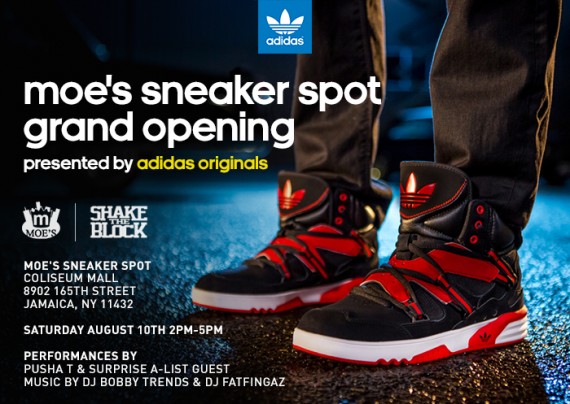 adidas RH Instinct Launch with Pusha T and Fabolous at Moe's Sneaker Spot