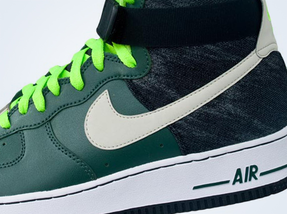 mens nike air force 1 green