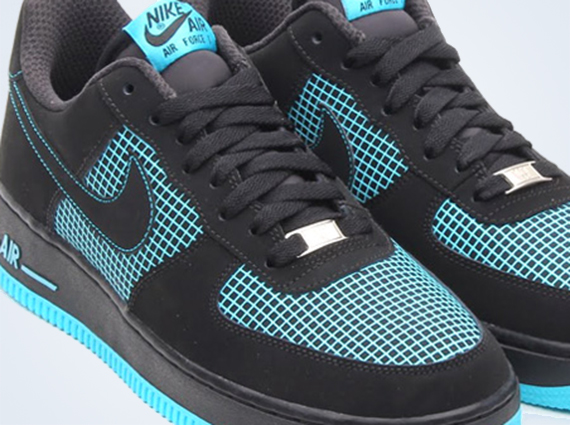 Nike Air Force Lunar Black