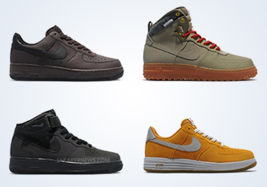 Nike Air Force 1 – October 2013 Preview