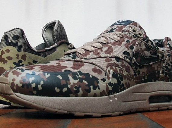 "the latest 3c5cc e54eb It looks like America will finally get a crack at the Germany flavored  pairs from the Nike Air Max ""Camo Country Pack"". Well, at least one door  here in the ..."