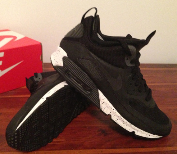 cheap nike air max 90 mid no sew negro 0c76c 99313