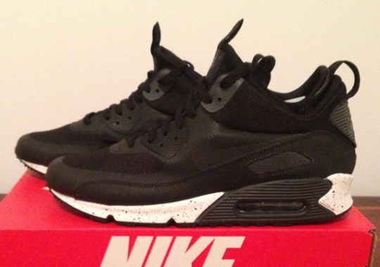 in stock 5d18f 5b4c1 Nike Air Max 90 Mid No Sew