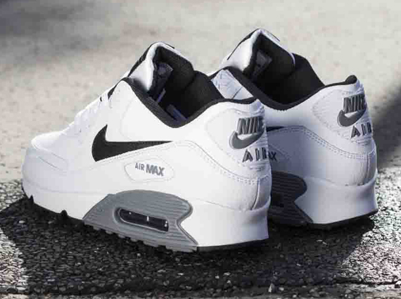 black grey and white nike air max 90