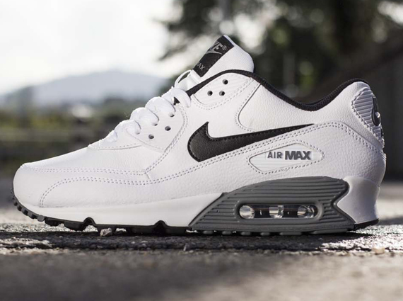 The first pair of Air Max 90s we saw with both the Essential and Leather  tags last month was in fact a nubuck build. Here s a new Nike Air Max 90  with ... 25433d3c4