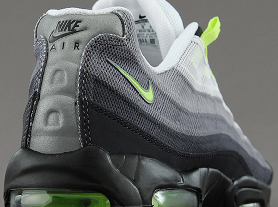 Nike Air Max 95 Grey Neon Green