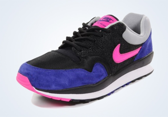 Nike Air Safari – Deep Royal – Black – Pink