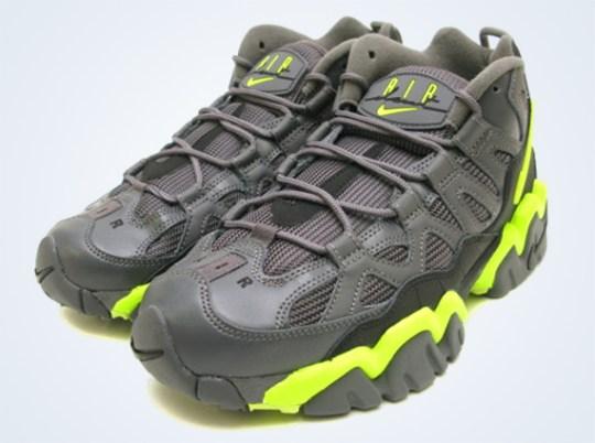Nike Air Slant Mid – Dark Grey – Volt