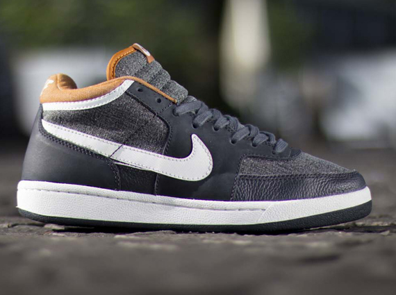 sneakers for cheap 92b6c b63a8 Nike Challenge Court Mid VNTG – Anthracite – Cider