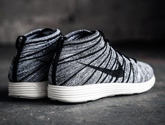 Nike Flyknit Chukka – Black – Sail   Release Date
