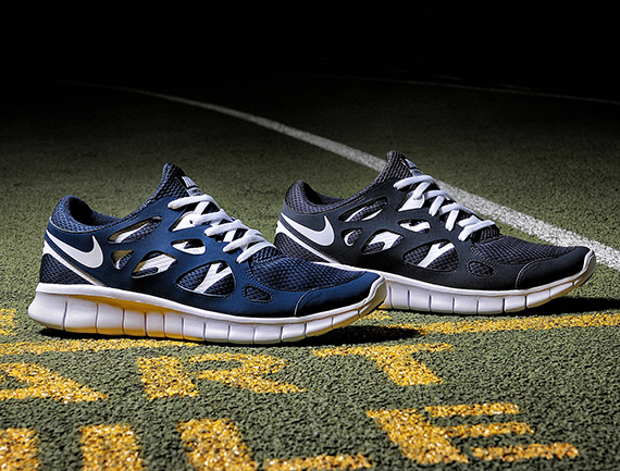 NIKE FREE RUN 2 (BLUE/YELLOW/BLACK) Sneaker Freaker