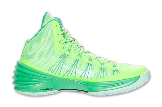 sports shoes bd62c f1814 Nike Hyperdunk 2013 Black Neon Green (Preview) Nike Hyperdunk 2013 599537-301  Nike Hyperdunk 2013 Flash Lime Arctic ...