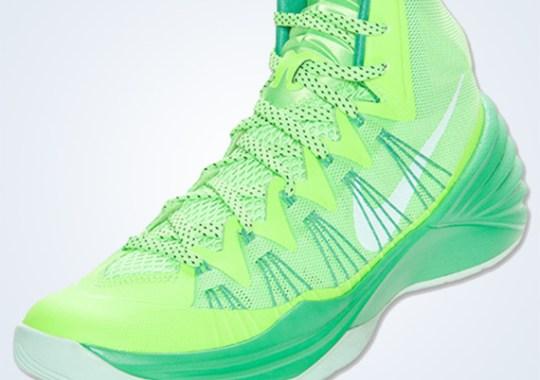 Nike Hyperdunk 2013 – Flash Lime – Arctic Green
