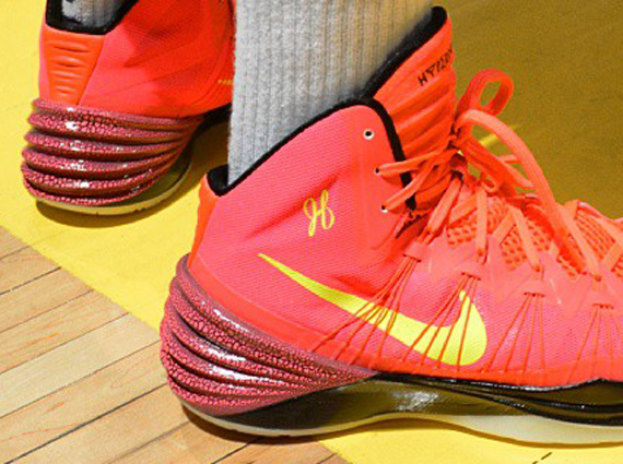 ce72d7ee0ff6 Is there anyone out there who can top Kyrie Irving s incredible Nike  Hyperdunk 2013 player exclusive  For what it s worth James Harden is  certainly trying.