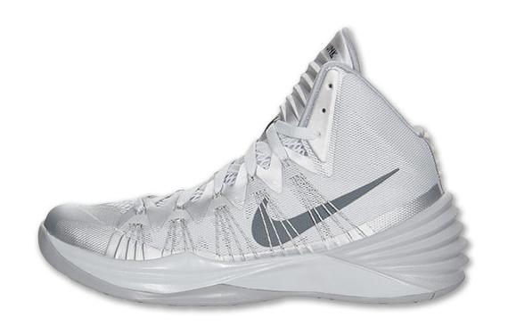 Nike Hyperdunk 2013 - Pure Platinum - Dark Grey - Wolf ...