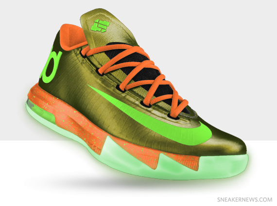 separation shoes 966e7 5323b ... can come up with making the best of the choice (Which notches up the  price tag by  20). See some examples below then make your KD 6 pair on  NIKEiD now.