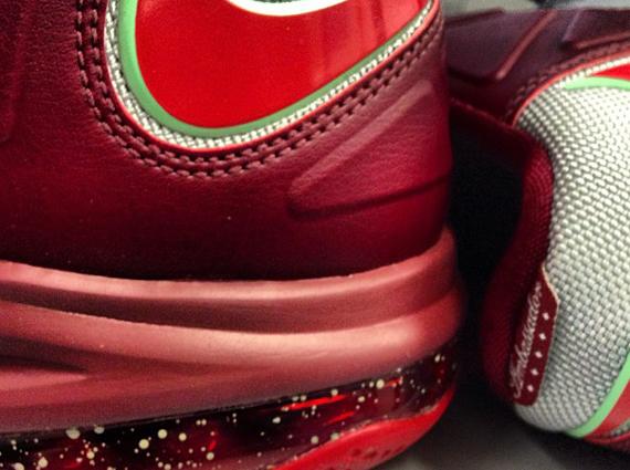 "new arrival 3fce3 01283 Nike LeBron Ambassador 6 ""Christmas"" Teaser"