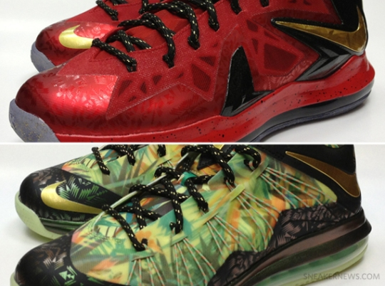 "Nike LeBron X ""Championship Pack"" – Release Info"