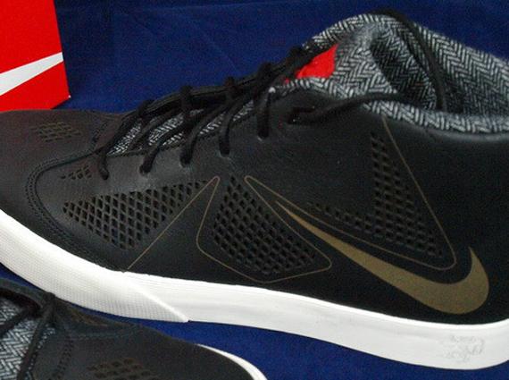 huge discount bb174 b031a Nike LeBron X NSW Lifestyle – Black – Sail – University Red