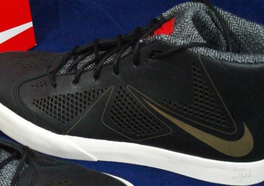 Nike LeBron X NSW Lifestyle – Black – Sail – University Red