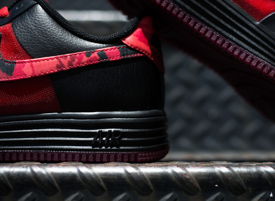 Nike Lunar Force 1 Rouge Rouge 42