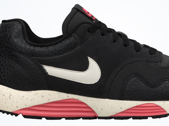 finest selection 34454 6858f Nike Lunar Terra Safari – Dark Charcoal – Atomic Red