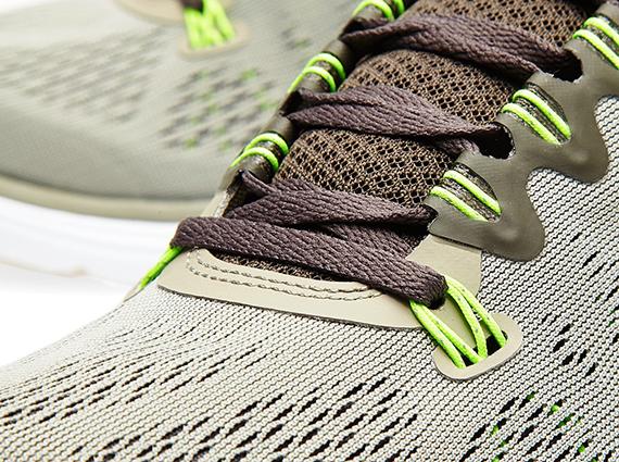 5a281e901a1fa Nike LunarGlide+ 5 - Mine Grey - Newsprint - Flash Lime - SneakerNews.com