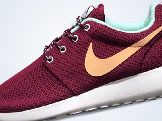 nike roshe run raspberry red purple dynasty warriors