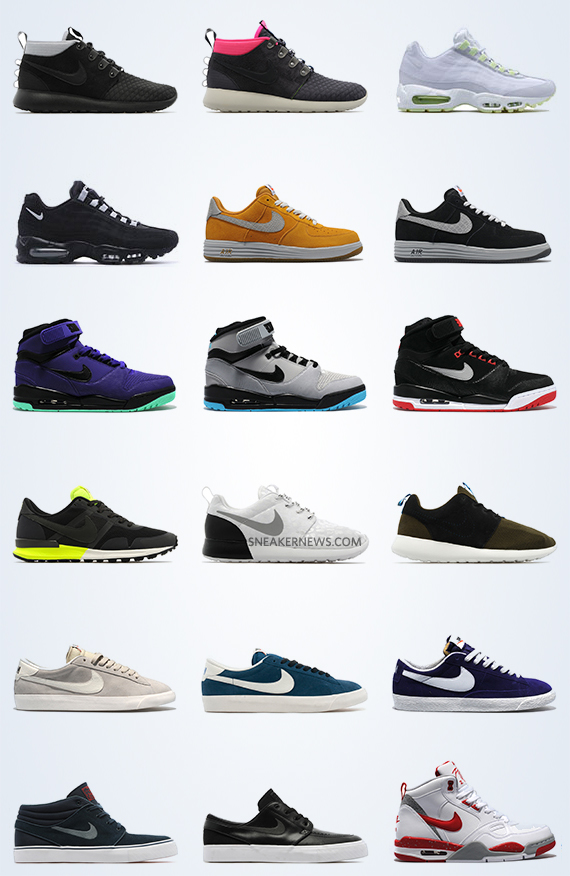 Nike Sportswear October 2013 Preview