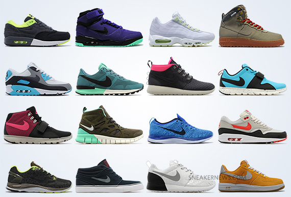 Anotar Agacharse Genealogía  Nike Sportswear October 2013 Preview - SneakerNews.com