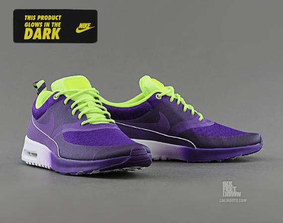 23c97796835b durable service Nike WMNS Air Max Thea Woven Electric Purple ...