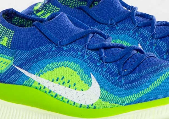 the best attitude c99ce a92a5 Nike WMNS Free Flyknit – Game Royal – Blue Hero – Electric Green