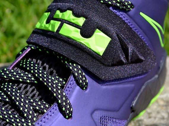 90bbe77326c Nike Zoom Soldier VII - Court Purple - Blueprint - Flash Lime -  SneakerNews.com