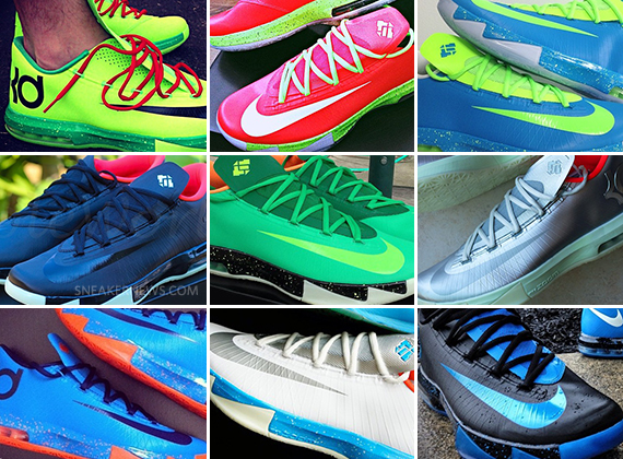 Nike ID KD 6