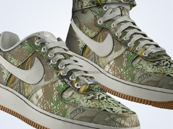 012b409007617 NIKEiD Air Force 1 - Realtree Camo Options - SneakerNews.com