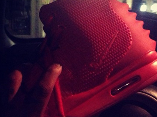 """Red October"" Nike Air Yeezy 2 Preview"