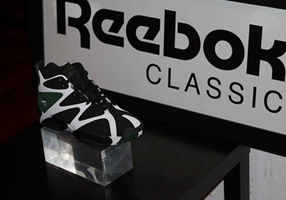 Reebok Kamikaze Black White Green