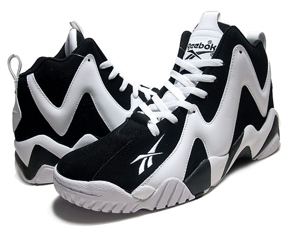 Kamikaze Shoes Black And White
