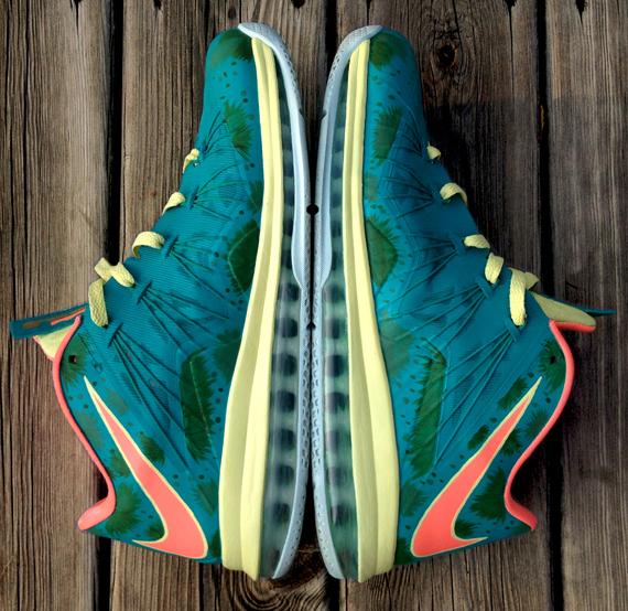 new concept 1da7a e825c good Nike LeBron X Low quotReverse Palmerquot by DeJesus Customs