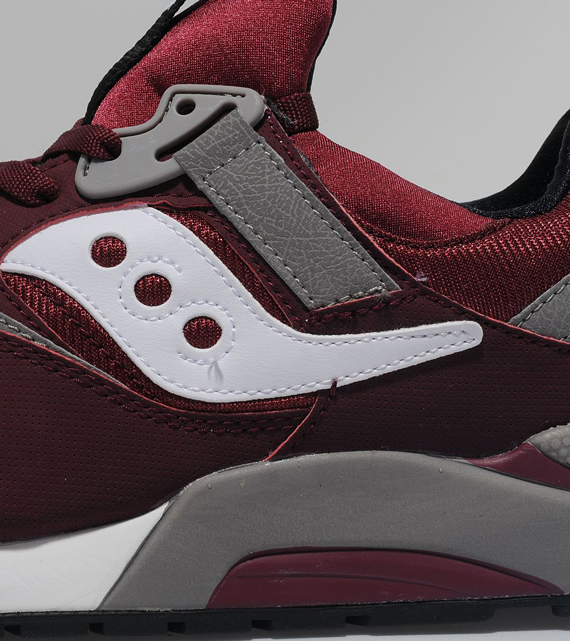 pretty nice 34894 d8313 Saucony Grid 9000 - Burgundy - Grey   Available - SneakerNews.com