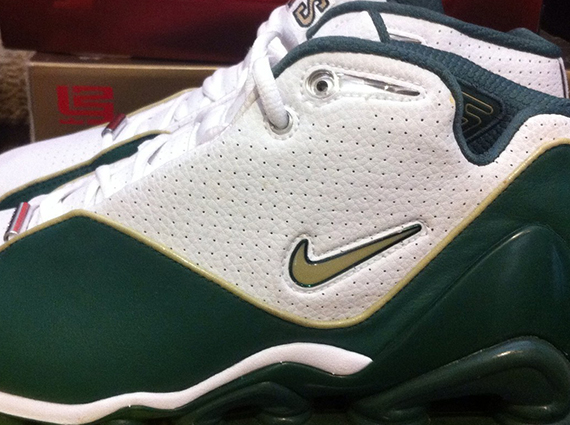 38e207ffba80 It s not often we feature a Nike Shox shoe here on Sneaker News