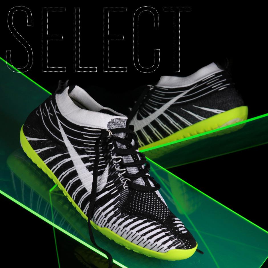 Nike Free Hyperfeel running shoe with Flyknit